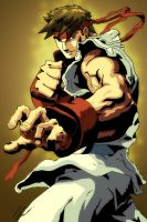 Ryu - Street Fighter by SpeedArt1982