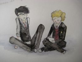 Outsiders - Bob and Paul by Distorted-Eye