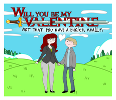 Adventure Valentine by LaggyCreations