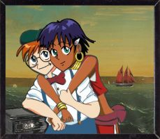 Jean and Nadia - Couple by Laphroaigh