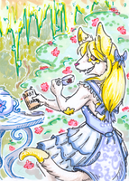 teaparty with marzipan by not-fun