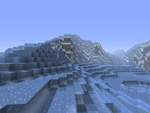 Minecraft Glacier Biome (Using the Mod I'm Making) by CHL99