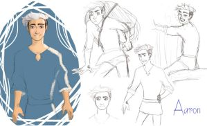 Meet the character - Aaron by MaryandJim