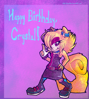 Birthday GiftART -- Pastel-Kitten by Reptonic