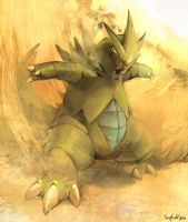 A sandstorm kicked up! by Siplick