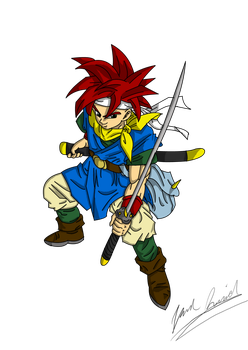 Crono - Colored by UltimateIfrit