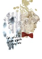 Doctor Who Collage by minipolkadots