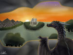 Just Watch the Sunset by Haasiophis-Sahel
