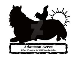 Adamson Acres Farm logo by Toxic-Muffins-Studio