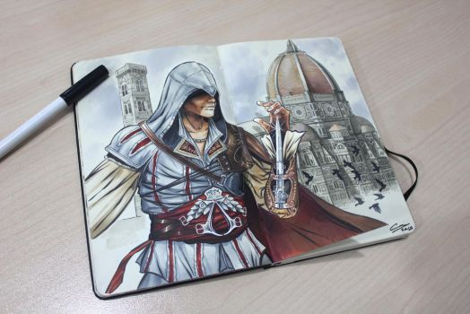 Ezio Auditore da Firenze by canthebaran