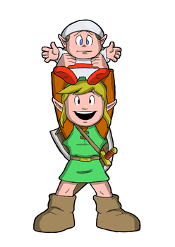 Link and the Lost Kid by fryguy64
