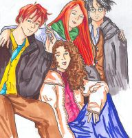 HP Group COLORED by TheNorthMint