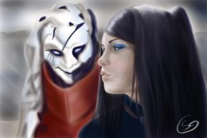 Ergo Proxy (Re-L and Vincent) by T-S-L