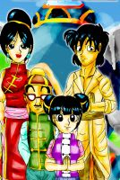 The Family from Outer Space by YamchaFan91