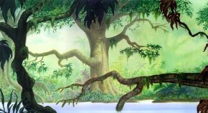 Jungle Book paint Scuderi by Skudo