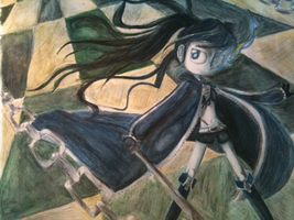 Black Rock Shooter by ceebers