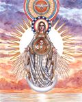 Our Lady of the Morning Star by Theophilia