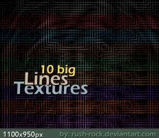 10 Big Textures - Lines by rush-rock