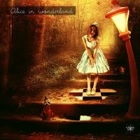 Alice in wonderland by Lili-Lou