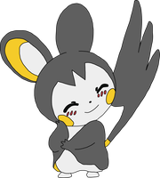 Emolga vector by fsLeg