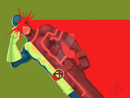 Cyclops: Now and Then by NelsonHernandez