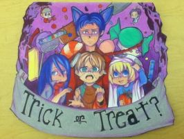 Attack on Halloween by AliciaStopIt