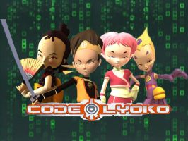 Code Lyoko Background by Lyoko32
