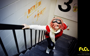 FLCL - Runner's High by cafe-lalonde