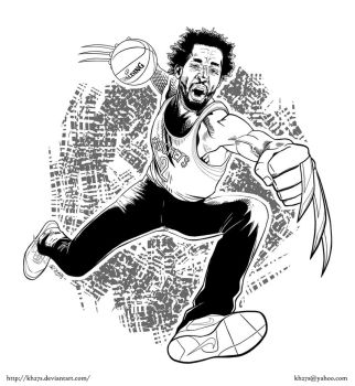 Commission: Patrick Beverley by kh27s