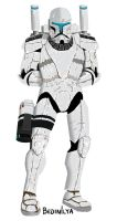 Republic Commando RC 1136 Darman by FoxbatMit