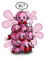 Kirby Pile by Jrynkows