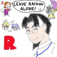 Leave Raikou Alone by Evil-Azurill