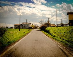 country street by marcospiga