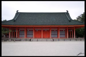 Heian Jingu Shrine by IvanChristian
