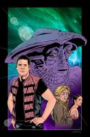 Farscape issue 5 Cover by WillSliney