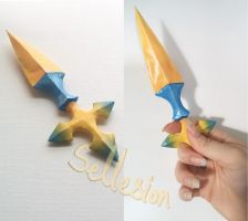 Kingdom Hearts Larxene Foudre (Throwing Knife) by Sellesion