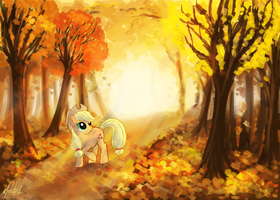 Autumn Orchards by RuckusRufus