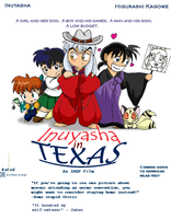 Inuyasha in Texas: The Drawing by Kurokiba