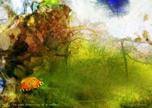 he was dreaming of a valley... by ladida