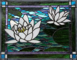 """Monet's"" Waterlilies by AigneadhAigeann"
