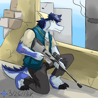 Sniper Dragon by Vent-Kazemaru