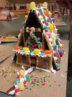 Gingy house! by NickyKitKat