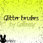 glitter brushes by Galleasy by Galleasy