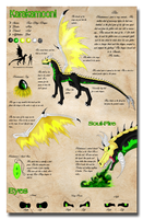 Karakamooni Ref-Sheet 3.0 by Neffertity