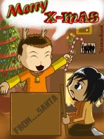 LP:Merry X-mas2011 by youngthong-art