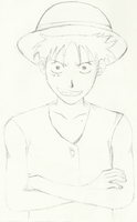 luffy by breathless-hope