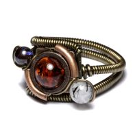 Steampunk Orrery ring 1 by CatherinetteRings