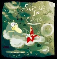 Swimming in Clouds :Gift: by sapphii