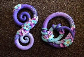 Legami in Purple and Blue, mix by Alkhymeia
