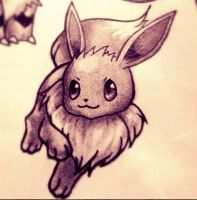 PokeProject: Eevee by Slightly-Spartan